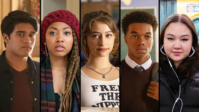 The five main characters that make up the plot for Netflix's Grand Army.