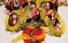 The official season three poster of Netflix's Cobra Kai, featuring the main cast of season three.