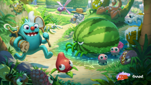 "The opening screen for ""Bugsnax"" details the numerous creatures to catch and the game"