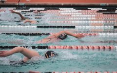 Woodside High School's swim team stays hard at work in preparation for their upcoming meet.