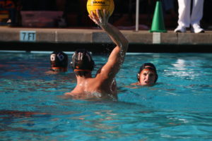 Woodside's boy's water polo team plans to take Menlo-Atherton down in their next game on October 7th.