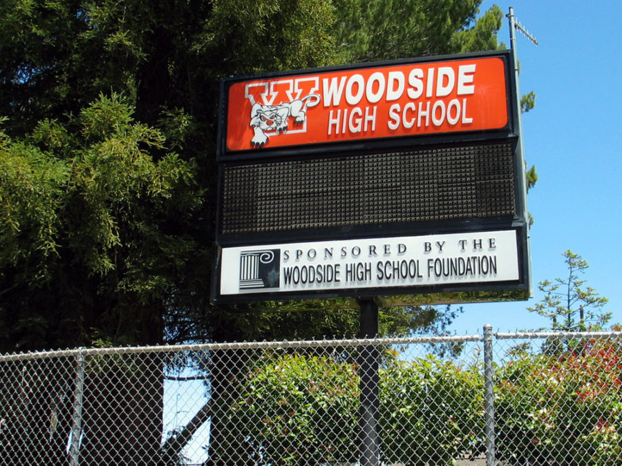 Woodside High schools Octagon Club started at Woodside 20 years ago.